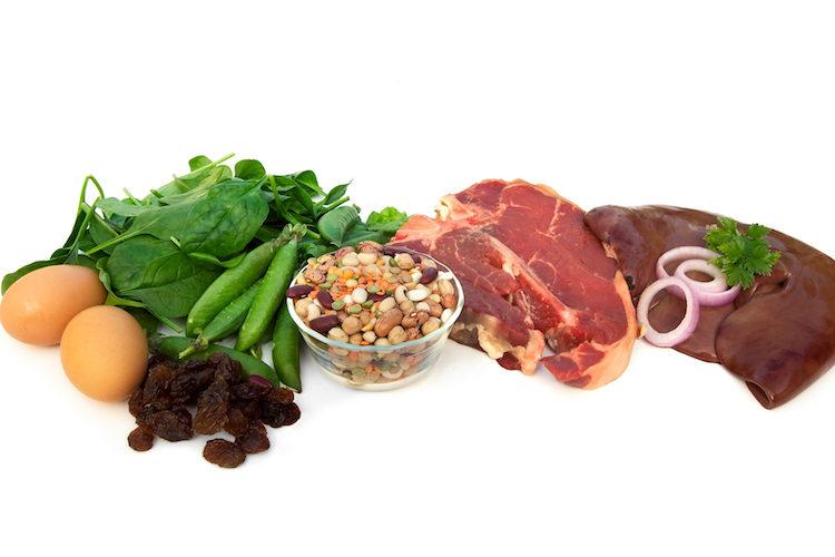 6 Alimentos ricos en hierro
