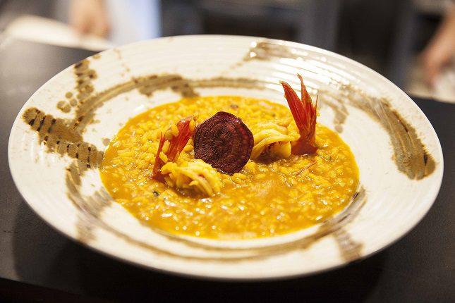 El arroz ciego de marisco es una auténtica delicia