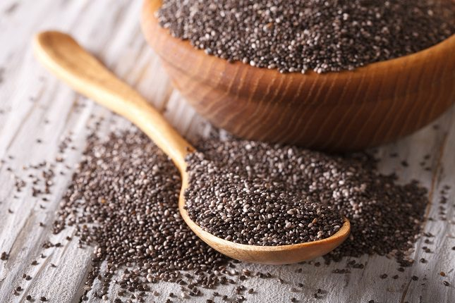 Las semillas de chía es un alimento que se ha puesto últimamente de moda